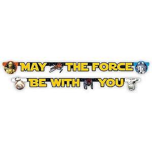 Faixa Decorativa Festa Star Wars - 1 unidade - Regina - Rizzo Festas