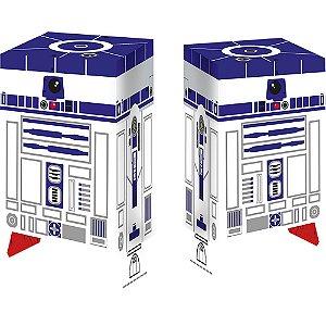 Caixa Surpresa R2D2 Festa Star Wars 9 - 8 unidades - Regina - Rizzo Festas