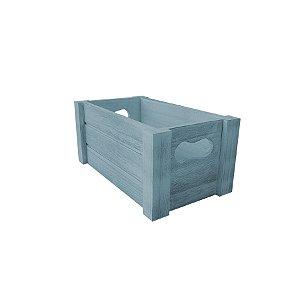 Caixote Madeira Azulado - 1 unidade - Cromus - Rizzo