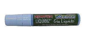 Caneta Giz Líquido Grossa Removível Azul - 01 unidade - Newpen - Rizzo Festas