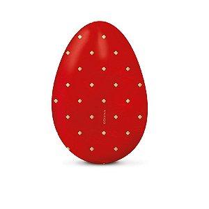 Papel Chumbo 43,5x58,5cm - Omega Vermelho com Ouro - 5 folhas - Cromus - Rizzo Embalagens