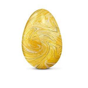 Papel Chumbo 43,5x58,5cm - Marmorizado Amarelo - 5 folhas - Cromus - Rizzo Embalagens