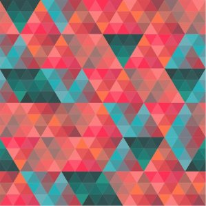 Saco Presente 45x60 - Triângulos - 25 unidades - Regina - Rizzo Embalagens