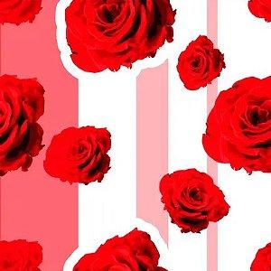 Saco Presente 10x14 - Paixão Vermelha - 50 unidades - Regina - Rizzo Embalagens