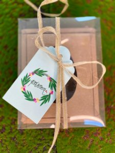 Tag Decorativa Guirlanda Páscoa - 05 unidades - Rizzo Embalagens