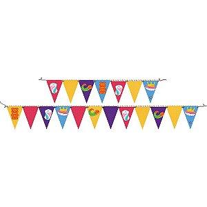 Faixa Decorativa Festa Fini - 01 unidade - Festcolor - Rizzo Festas