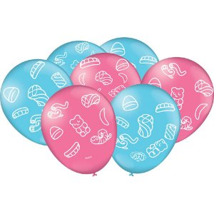 Balão Especial Festa Fini - 25 unidades - Festcolor - Rizzo Festas