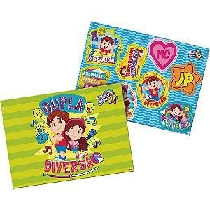 Kit Decorativo Festa Maria Clara e JP - 01 unidade - Festcolor - Rizzo Festas