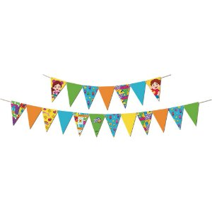 Faixa Decorativa Festa Maria Clara e JP - 01 unidade - Festcolor - Rizzo Festas