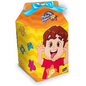 Caixa Milk Festa Maria Clara e JP - 08 unidades - Festcolor - Rizzo Festas