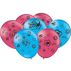 Balão Especial Festa Maria Clara e JP - 25 unidades - Festcolor - Rizzo Festas
