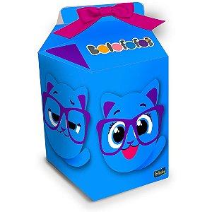 Caixa Milk Festa Bolofofos - 08 unidades - Festcolor - Rizzo Festas