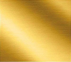 Saco Metalizado com Aba Adesiva Dourado - 30x42cm - 50 unidades - Cromus - Rizzo Embalagens