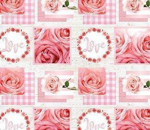 Saco Presente 20x29 Júlia Love - 50 unidades - Cromus - Rizzo Embalagens
