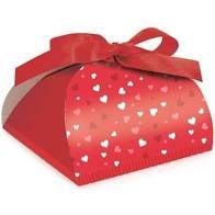 Caixa Bem Casado Viena Mini Heart - 6,5x4,5cm - 24 unidades - Cromus Festas