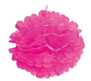 Pom Pom Pink - 40cm - 2 unidades - Cromus - Rizzo Festas