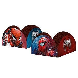 Porta Forminha para Doces Festa Spider Man Gamer Verse - 50 unidades - Regina - Rizzo Embalagens