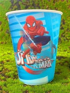 Copo de Plástico 3D 350 Ml Festa Homem Aranha - 1 Unidade - Regina - Rizzo Festas
