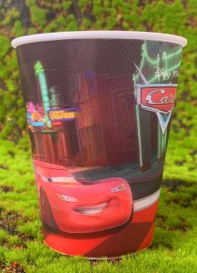 Copo de Plástico 3D 350 Ml Festa Carros - 1 Unidade - Regina - Rizzo Festas