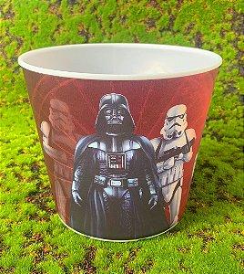 Balde Pipoca de Plástico 3D Festa Star Wars 1L - 1 Unidade - Regina - Rizzo Festas