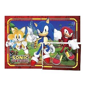 Painel Decorativo Festa Sonic - 01 unidade - Regina - Rizzo Embalagens