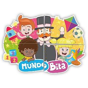 Painel Decorativo Festa Mundo Bita - 01 unidade - Regina - Rizzo Embalagens