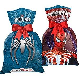 Sacola Surpresa Festa Spider Man Gamer Verse - 12 unidades - Regina - Rizzo Embalagens