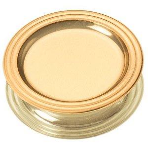 Mini Bandeja para Doces - Dourado 10cm - 25 unidades - Stalden - Rizzo Embalagens