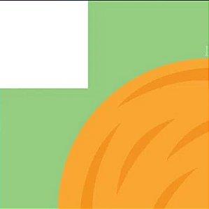 Saco Express 24x24cm para Ovos de 100g a 150g- Cenourinha - 05 unidades - Cromus Páscoa - Rizzo Embalagens