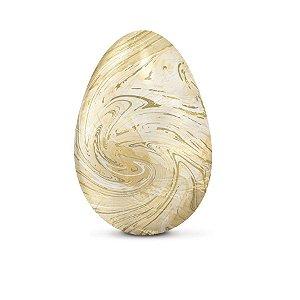 Papel Chumbo 43,5x58,5cm - Marmorizado Marfim - 5 folhas - Cromus - Rizzo Embalagens