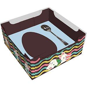 Caixa Ovo de Colher de 100g - Encanto Azul Bebê Kids Cód 1497 - 10 unidades - Ideia Embalagens - Rizzo