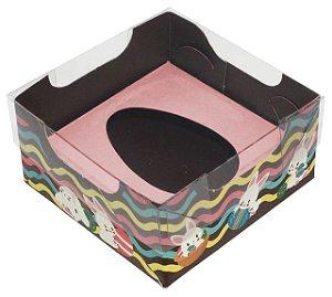 Caixa Ovo de Colher de 50g - Encanto Rosa Bebê Kids Cód 1486 - 10 unidades - Ideia Embalagens - Rizzo