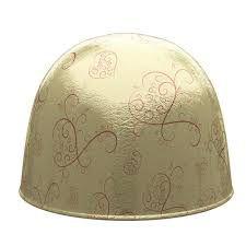 Papel Chumbo 10x9,6cm - Arabesco Dourado - 300 folhas - Regina - Rizzo Embalagens