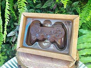 Caixa Controle Video Game 1 Cavidade Kraft - 05 unidades - Crystal - Rizzo Embalagens