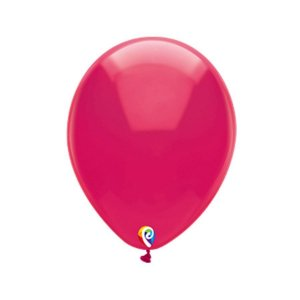 Balão de Festa Látex - Fucsia Cristal - Sensacional - Rizzo Embalagens