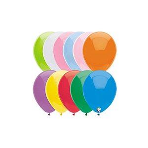 Balão de Festa Látex - Sortido Padrão - Sensacional - Rizzo Embalagens