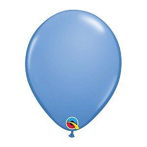 Balão de Festa Látex Liso Sólido - Azul Lavanda - Qualatex - Rizzo Balões