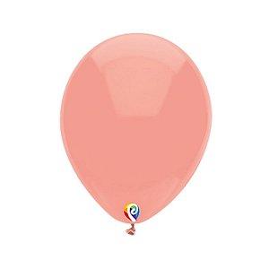 Balão de Festa Látex - Coral - Sensacional - Rizzo Embalagens