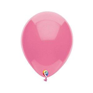Balão de Festa Látex - Rosa Quente - Sensacional - Rizzo Embalagens