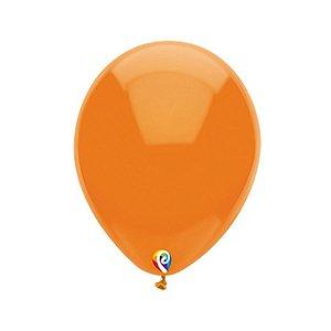 Balão de Festa Látex - Laranja - Sensacional - Rizzo Embalagens