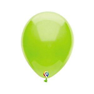 Balão de Festa Látex - Verde Lima - Sensacional - Rizzo Embalagens
