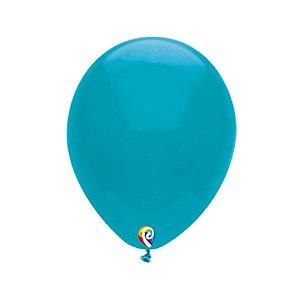 Balão de Festa Látex - Turquesa - Sensacional - Rizzo Embalagens