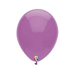 Balão de Festa Látex - Roxo - Sensacional - Rizzo Embalagens