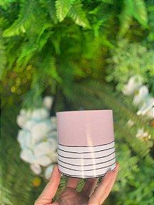 Tiras Decorativas Rosa Listras Preta M - 05 unidades - Rizzo Embalagens