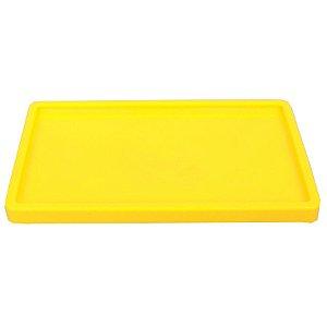 Bandeja Retangular 30x18cm Amarelo Neon - 01 unidade - Só Boleiras - Rizzo Embalagens