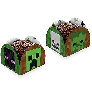 Porta Forminha Minecraft 50 Unidades - Regina - Rizzo Festas