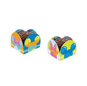 Porta Forminha De Papel Mickey Cores 50 Unidades - Regina - Rizzo Embalagens