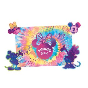 Kit Decorativo Minnie Tie Dye 01 Unidade - Regina - Rizzo Festas