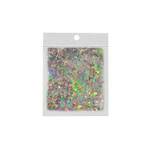 Confete Estrela 10g - Holográfico - Rizzo Embalagens