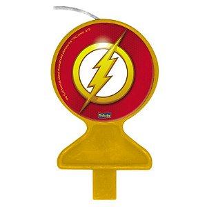 Vela Plana Festa Flash - 01 unidade - Festcolor - Rizzo Embalagens
